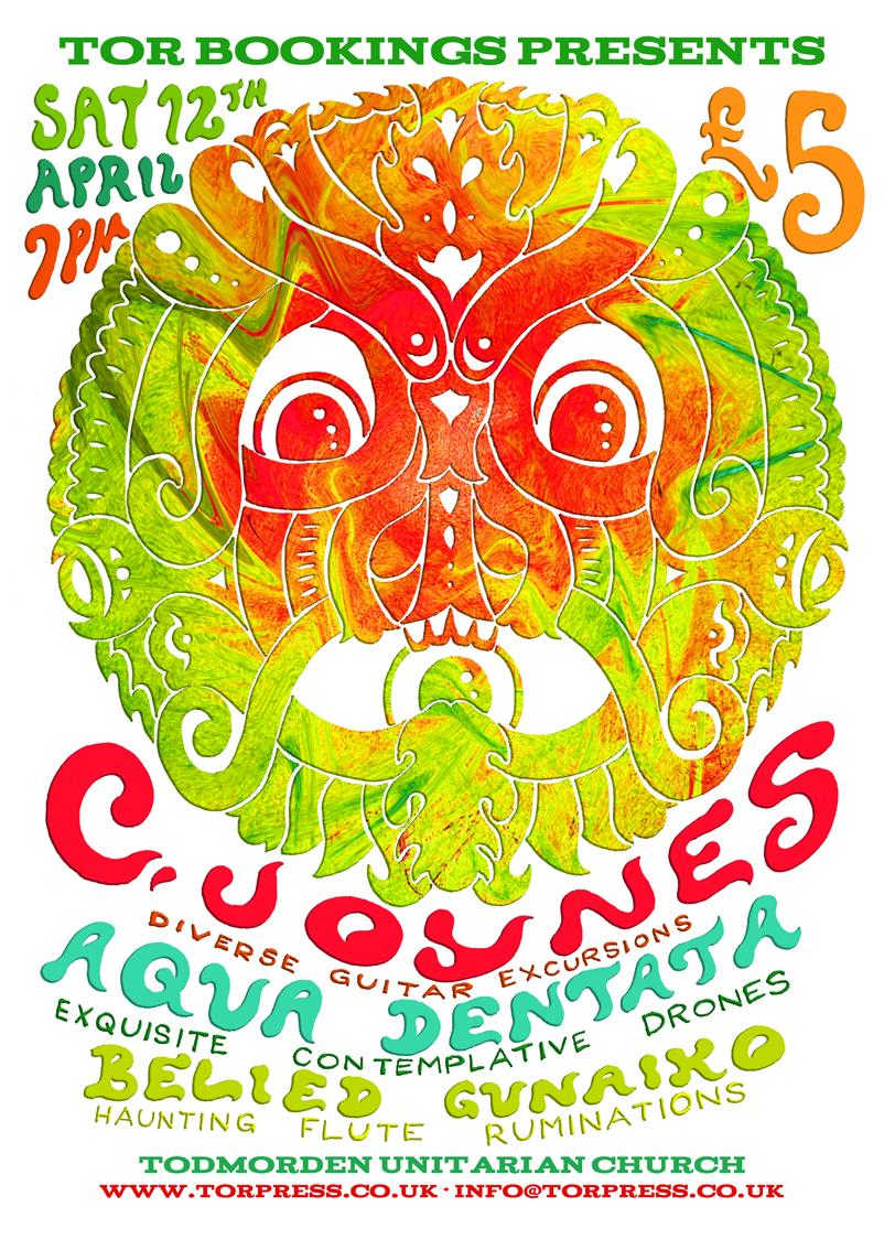 C.Joynes, Aqua Dentata, Belied Gunaiko 12/04/14