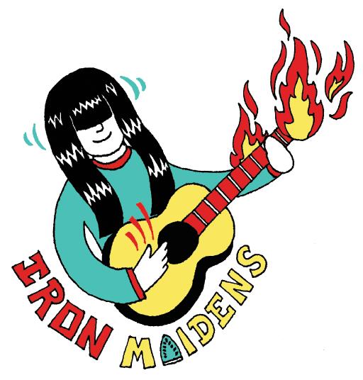 Iron Maidens logo web